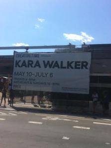 Kara Walker poster.